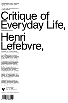 Critique of Everyday Life: The Three-Volume Text