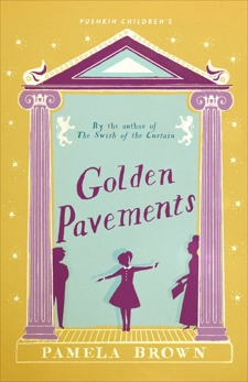 Golden Pavements: Blue Door 3, Brown, Pamela
