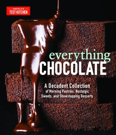 Everything Chocolate: A Decadent Collection of Morning Pastries, Nostalgic Sweets, and Showstopping Desserts,
