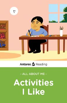 All About Me: Activities I Like, Antares Reading