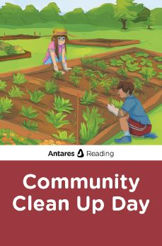 Community Clean Up Day, Antares Reading