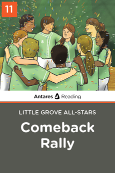 Comeback Rally (Little Grove All-Stars series - Book 11), Antares Reading
