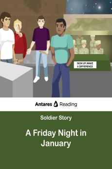 A Friday Night in January #1, Antares Reading