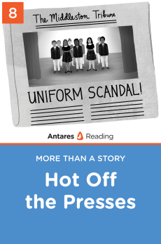 Hot Off the Presses, Antares Reading
