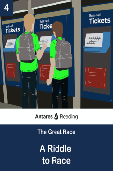 A Riddle to Race, Antares Reading