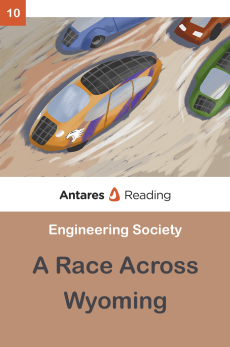 A Race Across Wyoming, Antares Reading