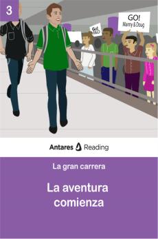 La aventura comienza, Antares Reading