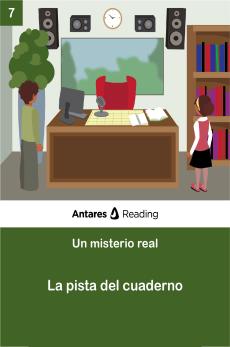 La pista del cuaderno, Antares Reading