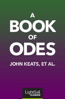 A Book of Odes, John Keats