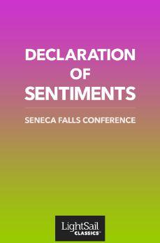 Declaration of Sentiments, Declaration of Sentiments