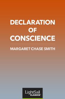 Declaration of Conscience, Margaret Chase Smith